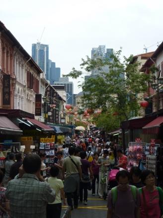 salah satu sudut China Town..