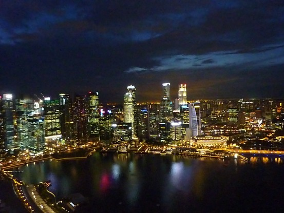 city at night, view from Sky Park 1