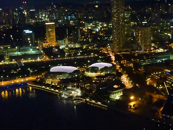 city at night, view from Sky Park 2