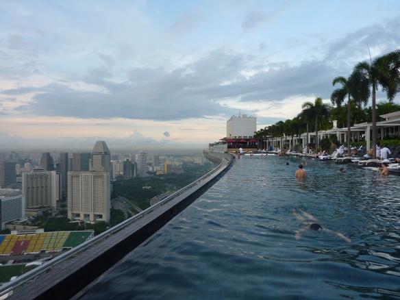 kolam renang terpanjang di dunia, dibangun di Sky Park