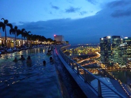 sky park, night view..